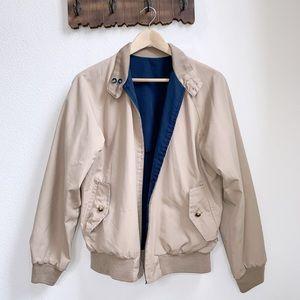 Vintage   Reversible Bomber Jacket